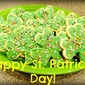 Spiced Brown Sugar Shamrock Cookies
