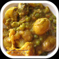 BABY POTATOES AND VEGETABLES IN GRAM FLOUR GRAVY