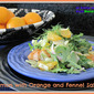 Salmon with Orange and Fennel Salad