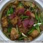Claypot Chicken with Chinese Sausage