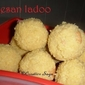 Besan ladoo made differently- step by step pictures