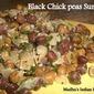 Black chickpeas Sundal | Nalla chanagala Guggullu
