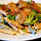 A Quick and Flavorful Dinner; Shrimp & Broccoli Alfredo