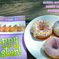 Easter and Passover Recipes for #SundaySupper...Featuring Bunny-Approved Baked Easter Doughnuts