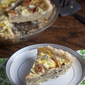 Prosciutto and Artichoke Quiche