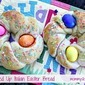 Italian Easter Egg Bread {Made with Truvia Baking Blend}