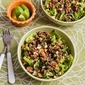 Thai-Inspired Ground Turkey Larb Salad Recipe with Sriracha, Mint, Cilantro, and Peanuts