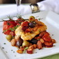 Baked Cod with Beans and Chorizo