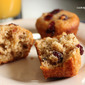 Orange Cranberry Walnut Muffins