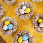 Cocoa Krispies Egg Nests