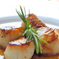 Scallops with Rosemary Butter Sauce