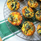 Mini Swiss Chard Quiches