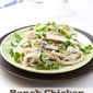 Ranch Chicken Fettuccine Alfredo