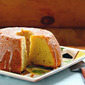Recipe for lemon poppyseed cake with lemonade glaze
