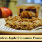 Simple Sundays: Flourless (for Passover! Or Gluten Free Diets!) Apple-Cinnamon Pancakes