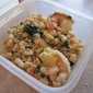 Lemony Shrimp with White Beans and Grains