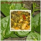 Pui Chingri Chorchori - Malabar Spinach and vegetable medley with Shrimps
