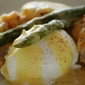 Country Style Eggs Benedict with Asparagus - Gluten Free