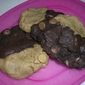 Chocolate Peanut Butter Cookie Duos
