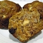 Apple Carrot Raisin Muffins