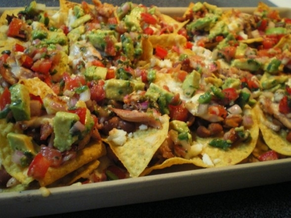 chicken nachos Recipe by dp - CookEatShare
