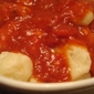 Potato Gnocchi with Marinara Sauce!