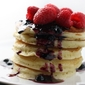 berry mascarpone pancakes