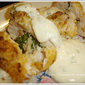 Chicken Roulades with Mustard Sauce