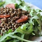 Cheap and Easy - Warm Lentil Salad