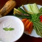 Delicious and low-fat greek yogurt dip