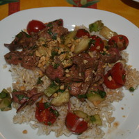 Image of Asian Beef Salad Recipe, Cook Eat Share