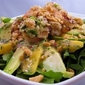 Mango & Avocado Salad with Peanut-Coconut Dressing