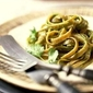 Simple & Healthy Pesto Pasta