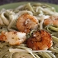 Grilled Shrimp Scampi with Linguine