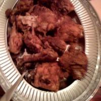 """""""Tandoori"""" grilled chicken"""