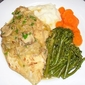 Chicken and Mushroom Scallopine