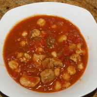 Pork and Hominy Chili