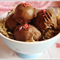 Chocolate covered Oreo Balls
