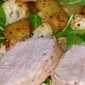 Pork Tenderloin with Roasted Vegetable Salad