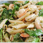 Lemon Pesto Shrimp Pasta Salad