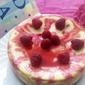 Baked Raspberry Cheesecake- Father's Day Special