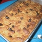 Bread Raisin Cinnamon Pudding