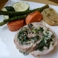 Mushroom, Spinach and Gouda Pork Loin Roulade