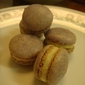 Macaron de la divinité captures the essence of this mulberry purple coloured root....