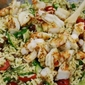 Greek Orzo Salad with Shrimp