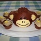 Monkey Cake & yummy cupcake icing