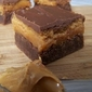 #61) PB Brownie Bars