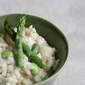 Springing into April - Spring Risotto w/ Asparagus and Edamame