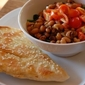 Curried Rice & Bean Salad with Indian Naan - Taste & Create XVII