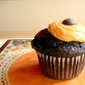 Luscious Low-Fat Chocolate Peanut Butter Cupcakes
